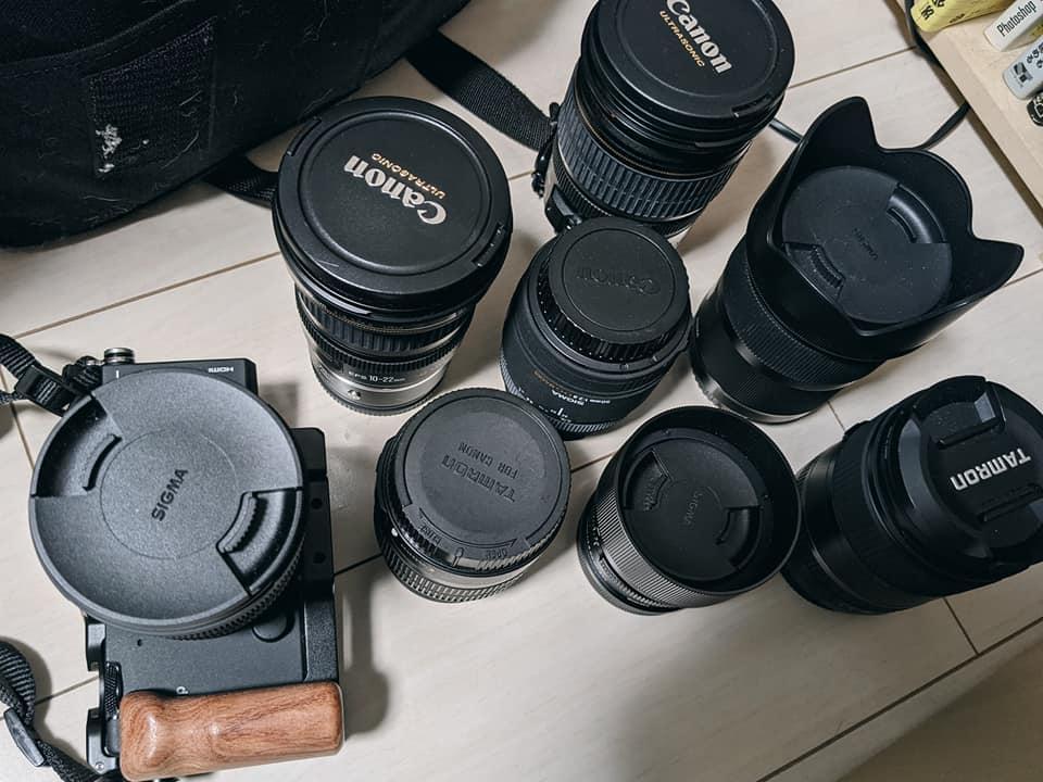 写真撮影のレンズ選び